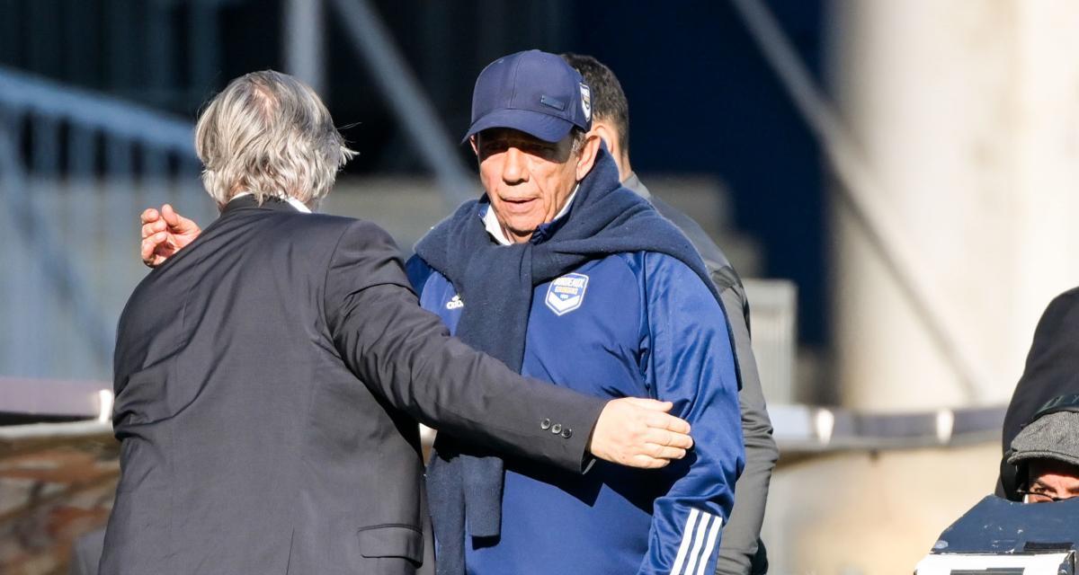 Girondins : Gasset remet un coup de pression à ses dirigeants