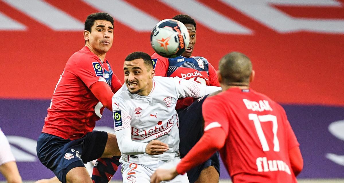 Résultat Ligue 1 : LOSC 1-2 Nîmes (terminé)