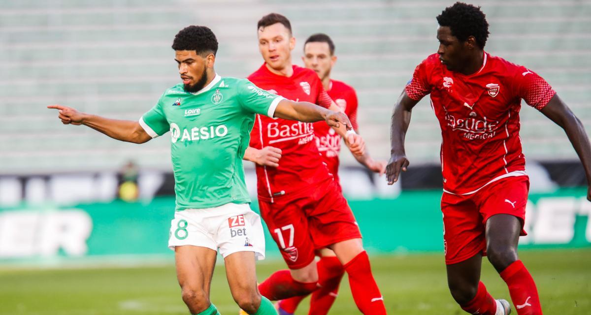 ASSE : les Verts prennent un premier coup de pression à Nîmes