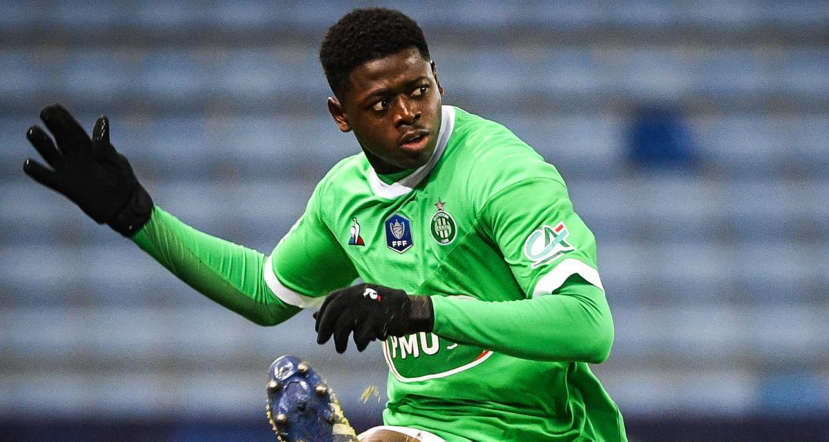 ASSE : Saidou Sow n'est pas le seul Vert appelé par la sélection de Guinée !