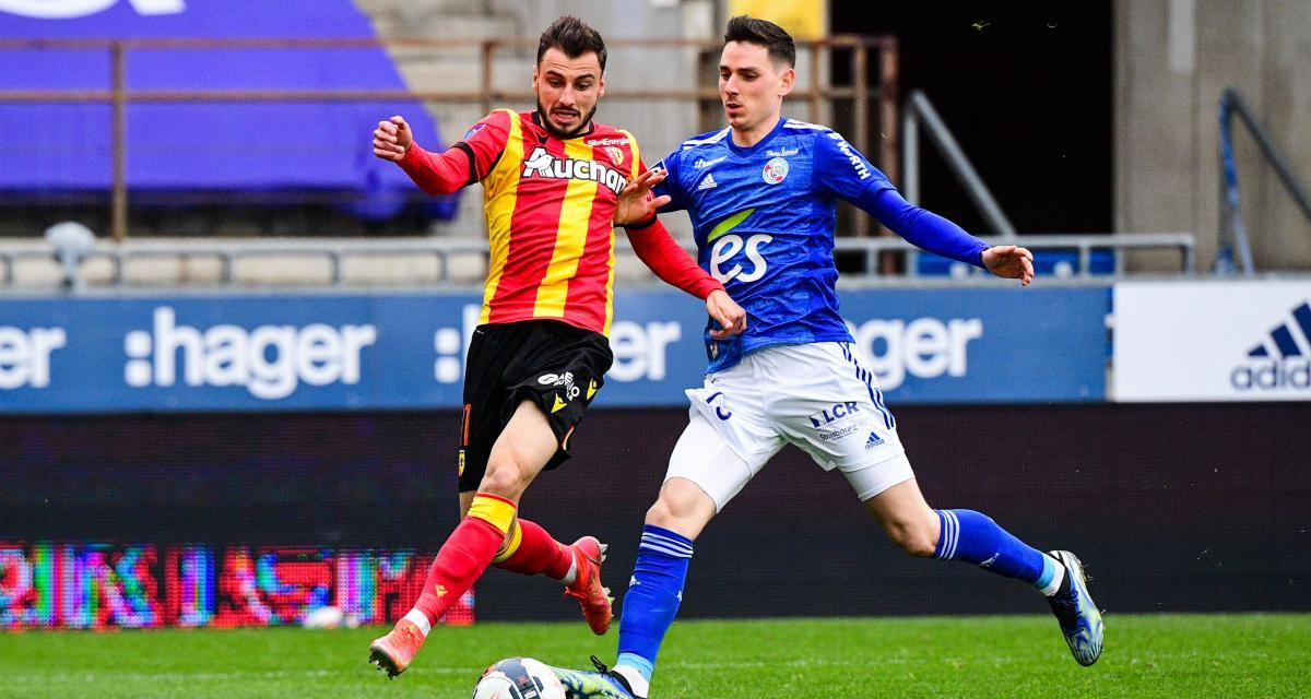 RC Lens : Jonathan Clauss console le RC Strasbourg