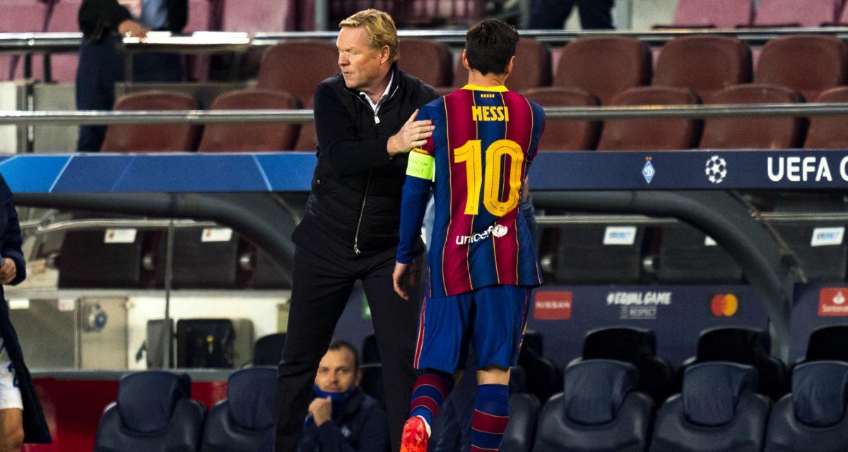 FC Barcelone - Mercato : Koeman prépare un ménage colossal autour de Messi