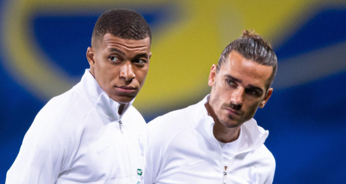 Equipe de France : France - Ukraine, les compos (Mbappé, Griezmann et Giroud titulaires)
