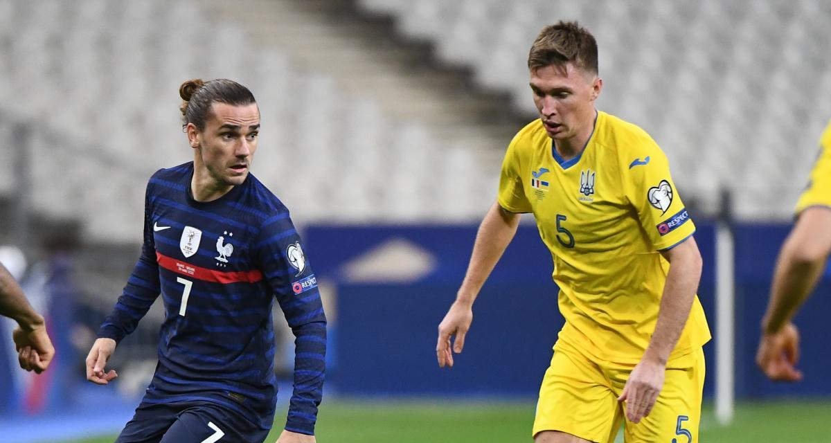 Résultat éliminatoires CM 2022 : équipe de France 1-1 Ukraine (terminé)