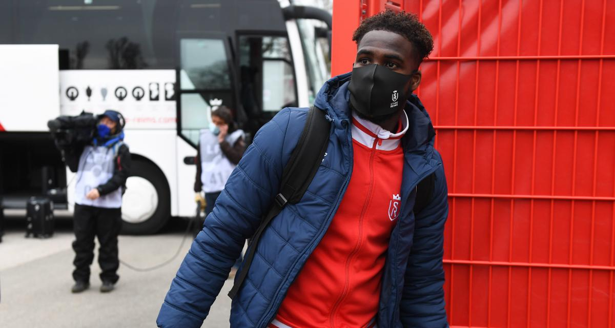 Stade de Reims: Boulaye Dia connait aussi quelques mésaventures avec sa sélection