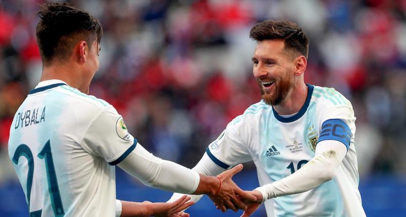 Messi ne veut pas de Dybala