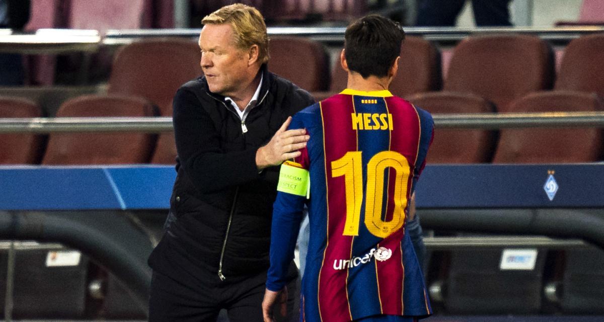 FC Barcelone, PSG - Mercato : des étincelles en vue entre Koeman et Messi ?