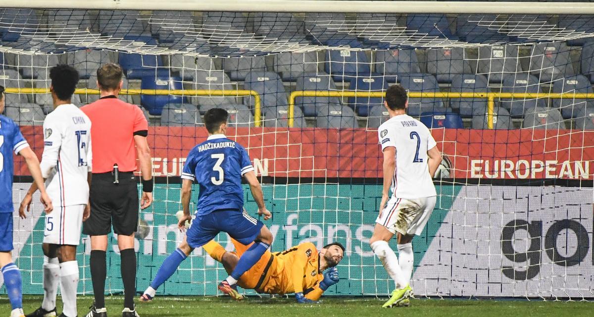 Eliminatoires Coupe du monde 2022 : Bosnie 0-0 France (mi-temps)
