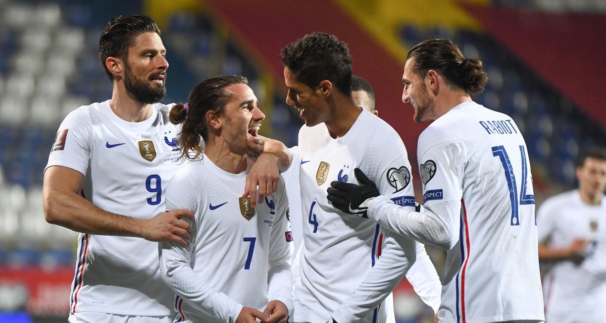 Eliminatoires Coupe du monde 2022 : Bosnie 0-1 France (terminé)