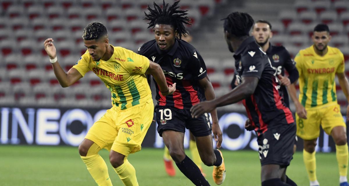 Ligue 1 : Nantes - Nice, les compos probables et les absents