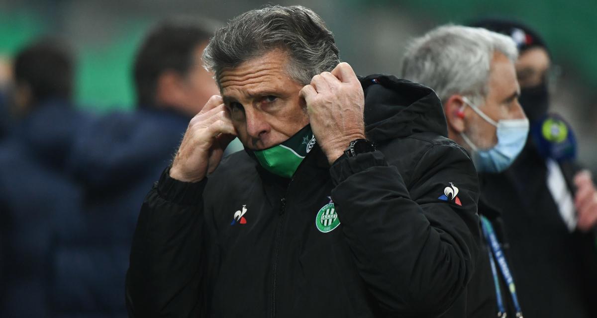 ASSE: Claude Puel éteint une polémique et se prononce sur les fins de contrat!