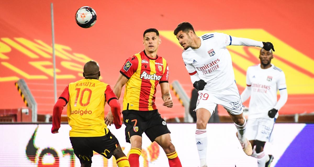 Résultats Ligue 1: Lens 0-0 Lyon (mi-temps)