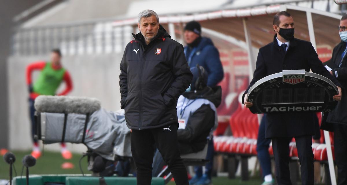 Stade Rennais : Genesio pétri de regrets après le nul à Reims (2-2)