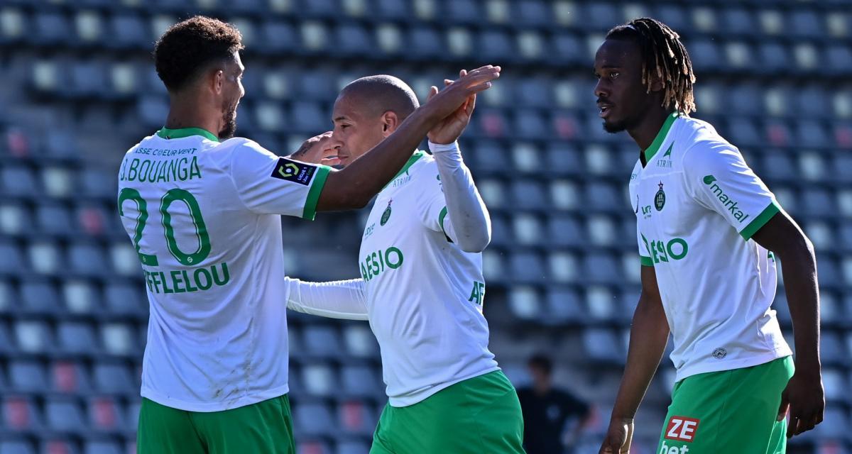 Nîmes – ASSE (0-2) : Khazri et Bouanga régalent, Green épate, le maintien prend forme... les notes des Verts, vainqueurs aux Costières