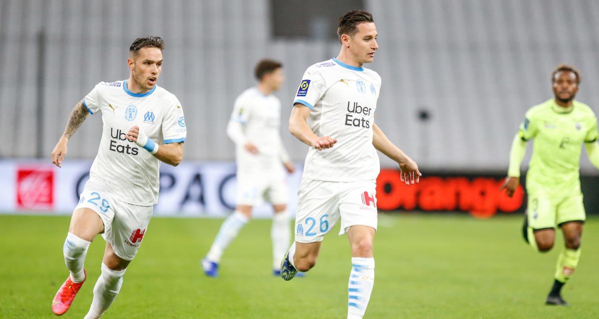 Résultat Ligue 1 : OM 1-0 Dijon (mi-temps)