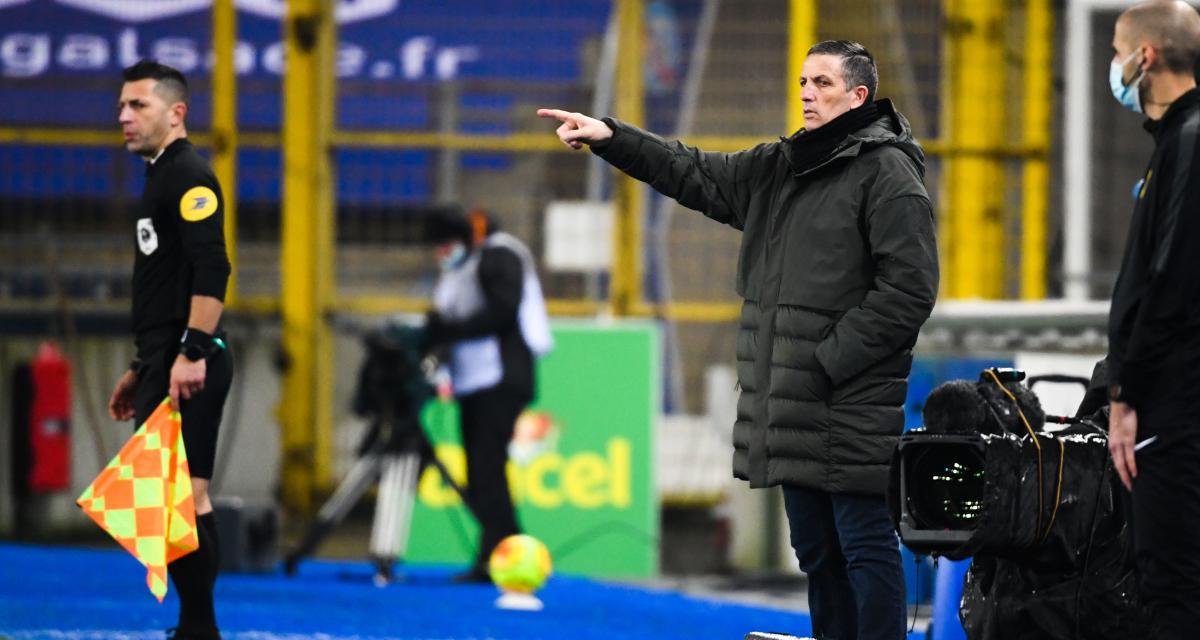 RC Strasbourg : Laurey s'est trouvé une inquiétante affinité avec l'ASSE et le FC Nantes