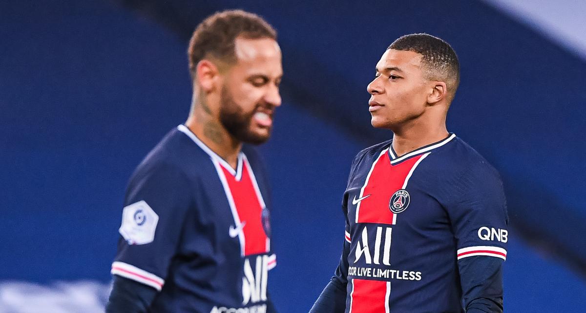 PSG : friture sur la ligne entre Neymar et Kylian Mbappé ?