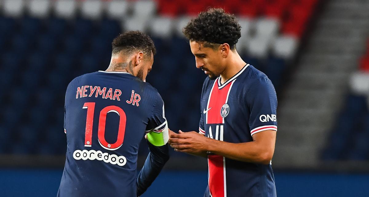 PSG : Marquinhos et Pochettino boostent Neymar