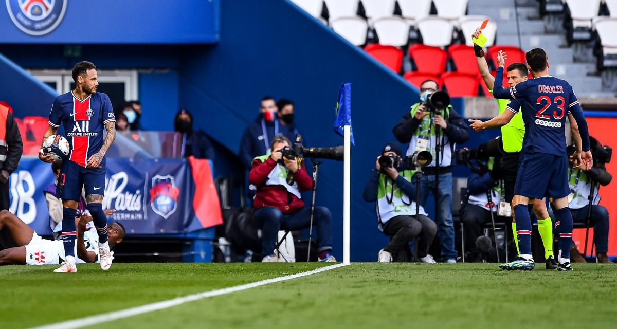 Discipline : 2 matches pour Neymar (PSG), 1 pour Djalo (LOSC) et Slimani (OL)
