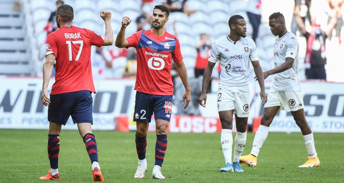Ligue 1 : Metz - Lille, les compos probables et les absents