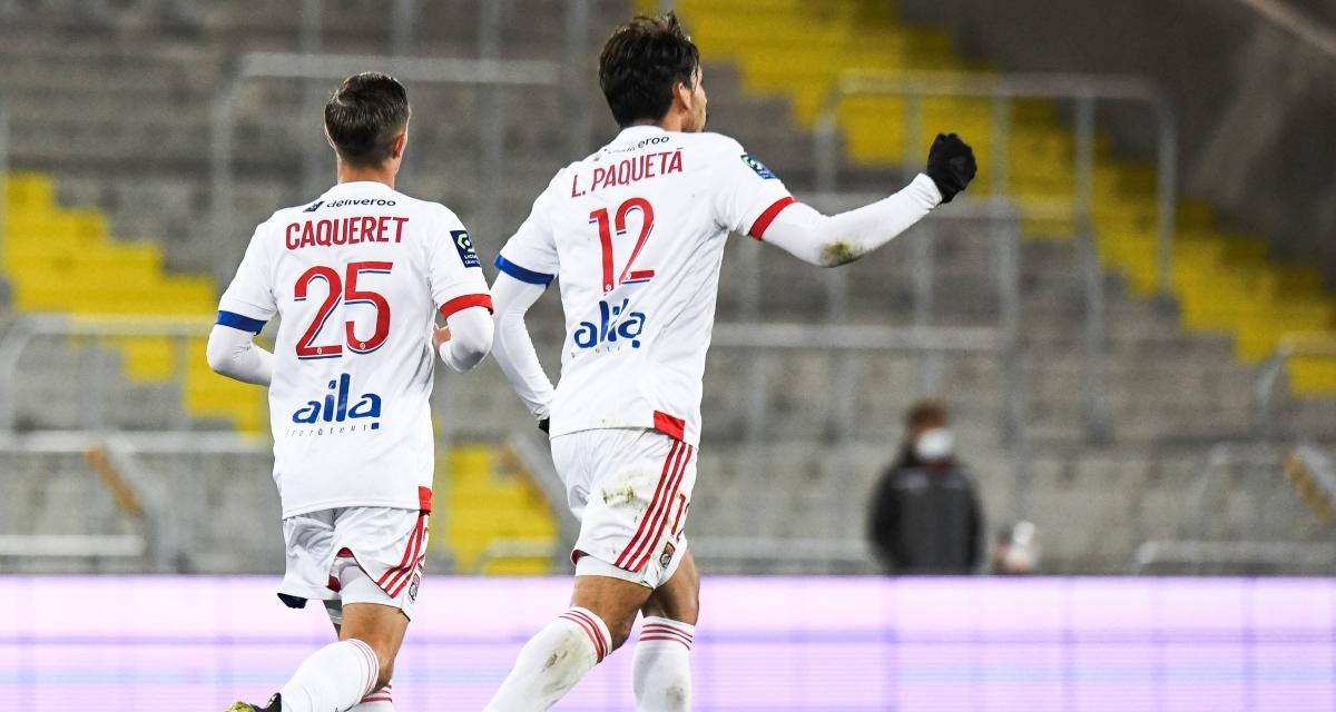 Résultat Coupe de France : Red Star 0-2 OL (mi-temps)