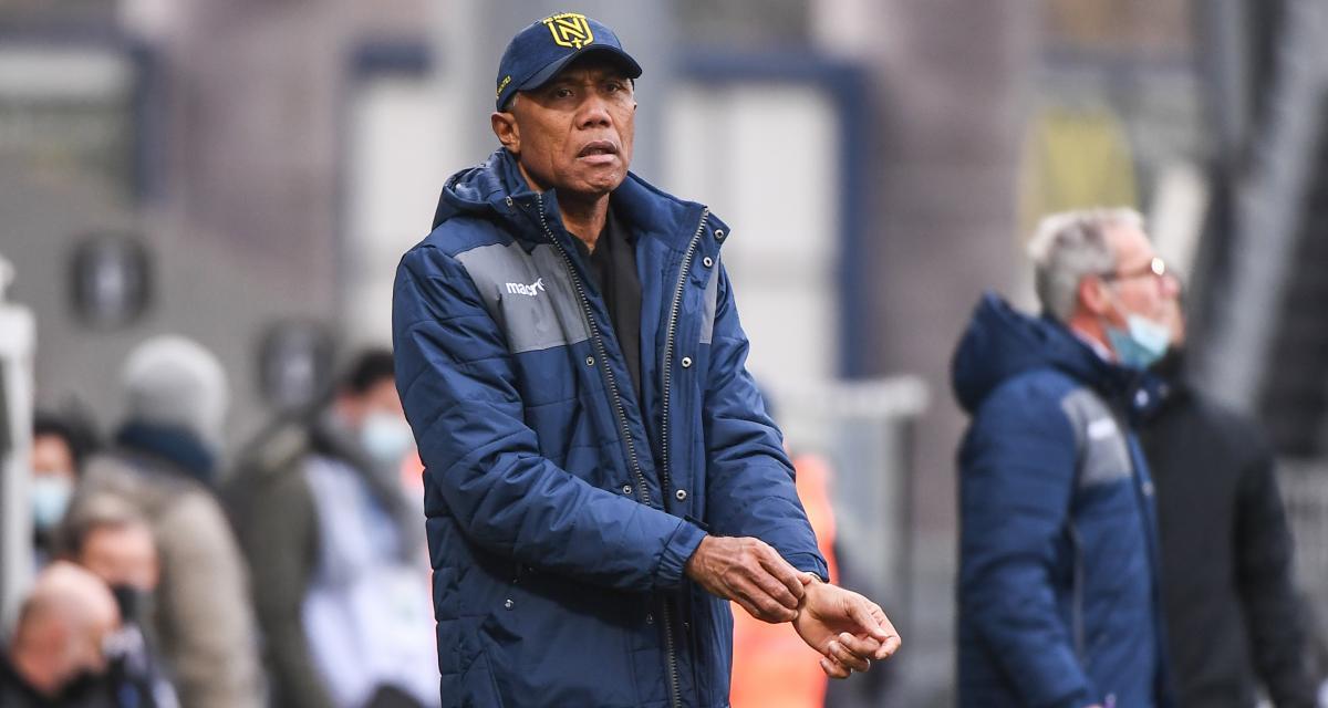FC Nantes : Kombouaré se délecte des frictions avec son groupe et a une bonne nouvelle pour Rennes