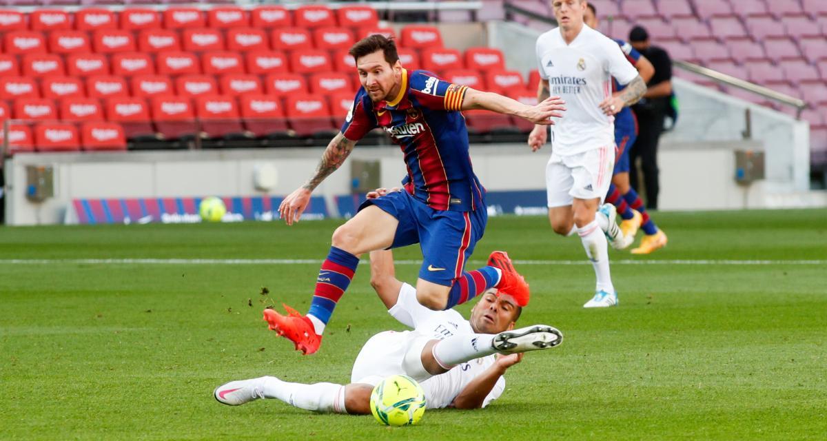 Real Madrid – FC Barcelone: Messi vs Benzema, Zidane vs Koeman... Le Clasico monte en pression!