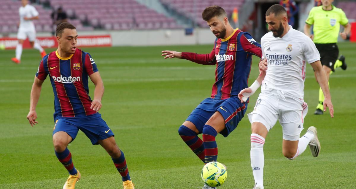Liga : Real Madrid - FC Barcelone, les compos sont là avec un Barça sans Griezmann !
