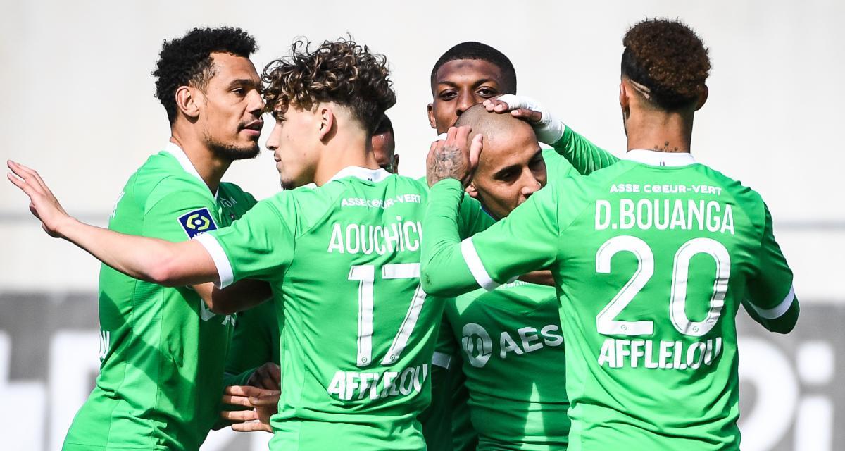 Résultats Ligue 1 : Khazri porte l'ASSE, le RC Lens est européen ! (mi-temps)