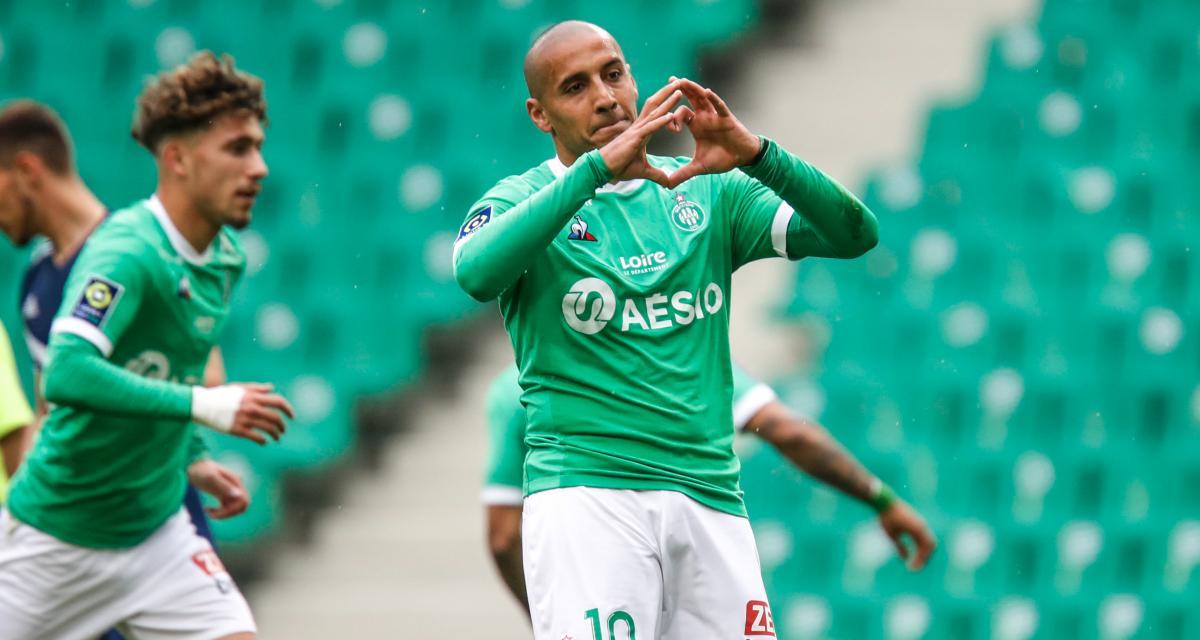 Résultats Ligue 1 : un Khazri de gala porte l'ASSE vers la victoire, le RC Lens se balade