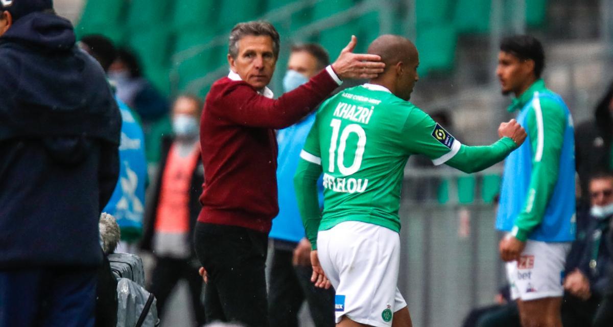 ASSE - Girondins (4-1) : Puel adoube Khazri et s'exprime sur le maintien