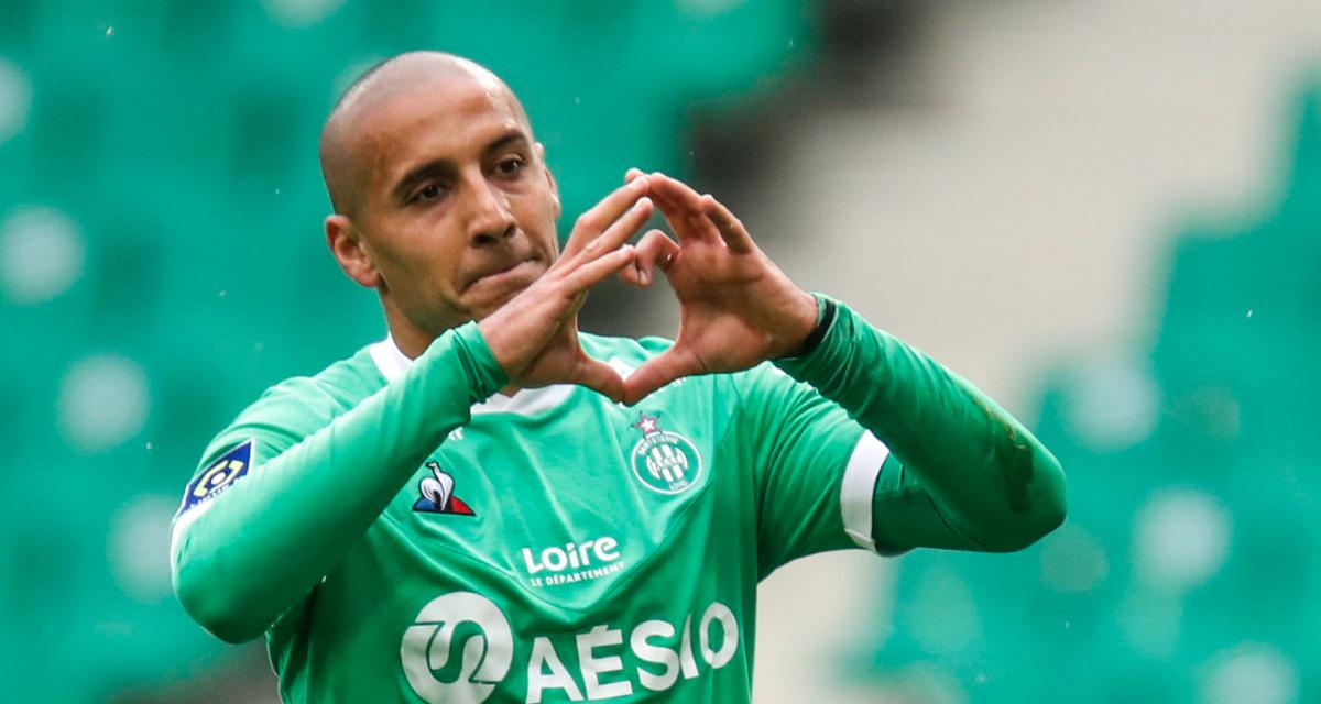 ASSE - Girondins (4-1) : Khazri envoie un tacle à Puel