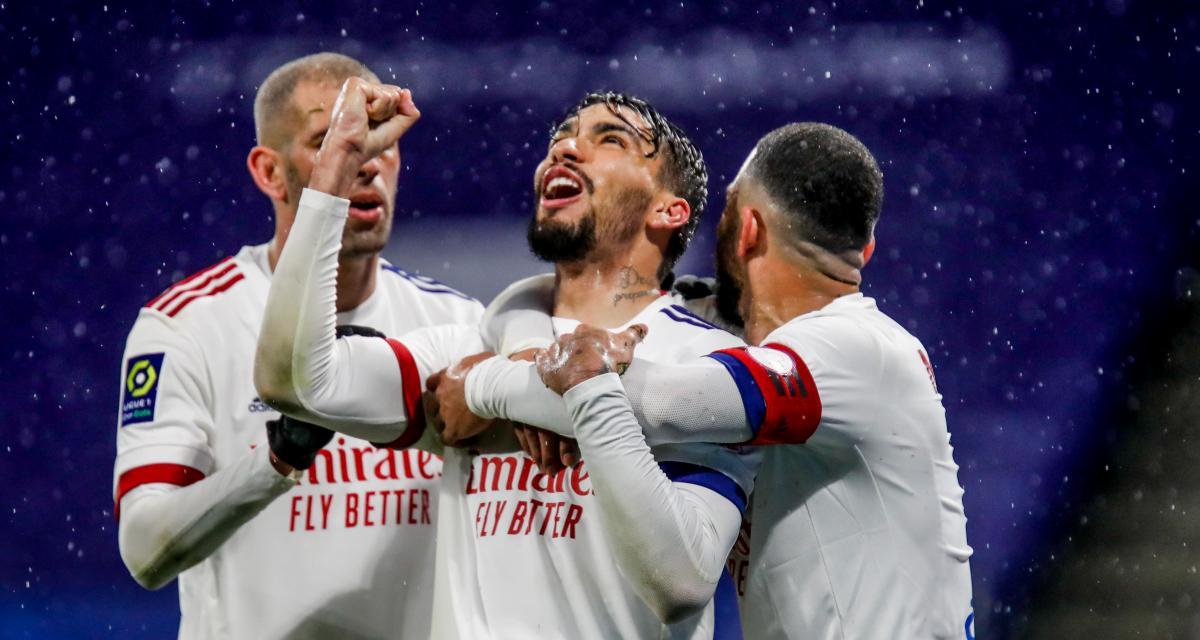 Résultat Ligue 1 : OL 3 - 0 Angers SCO (terminé)