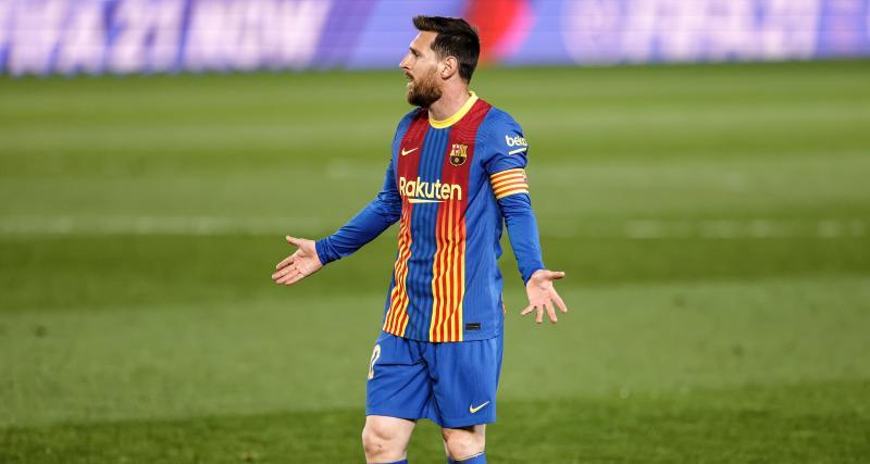Les mots de Messi contre l'arbitre