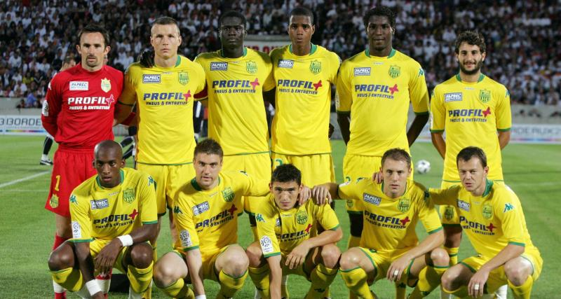 FC Nantes : le onze type des Canaris lors de la dernière descente en Ligue 2