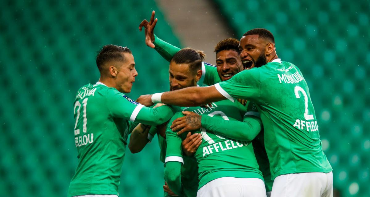 ASSE : les Verts ont fêté une immense première contre les Girondins