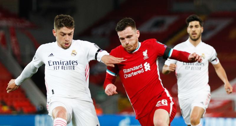 Résultats Champions League : le Real Madrid tient tête à Liverpool, Dortmund domine City (mi-temps)