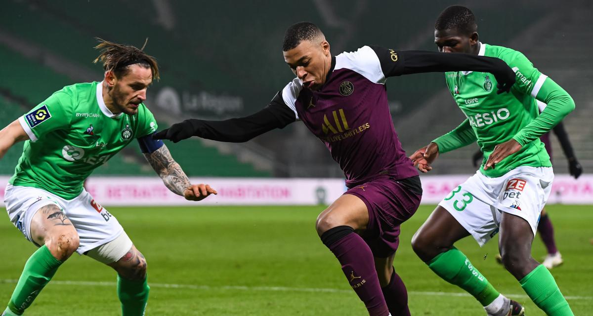 Ligue 1 : PSG - ASSE, les compos probables et les absents