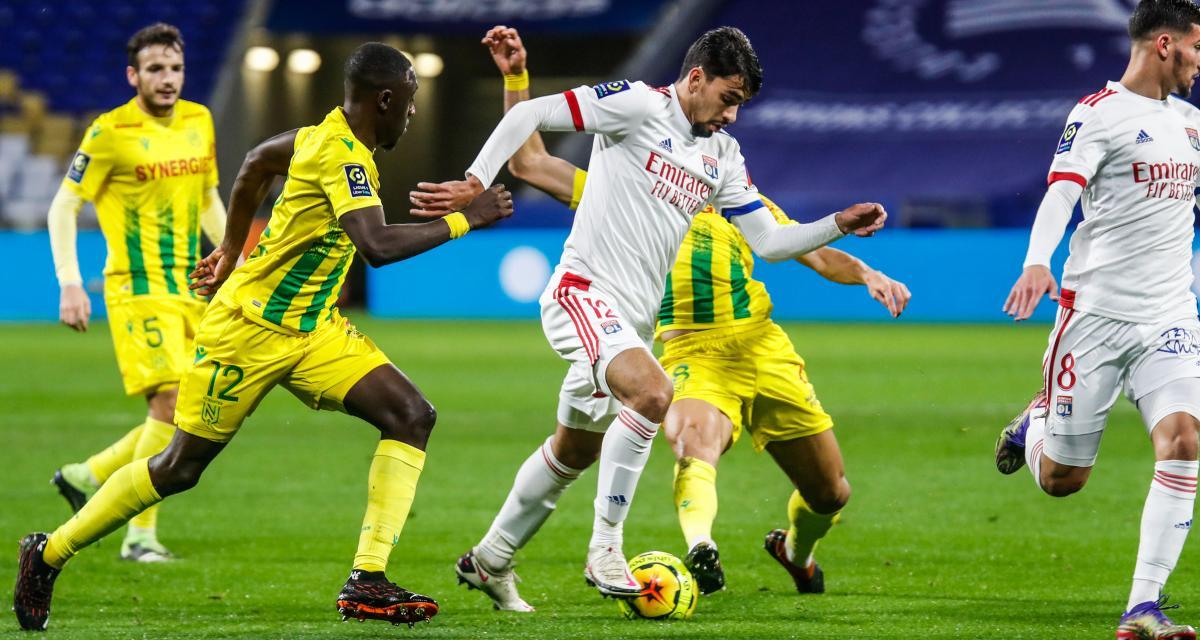 Ligue 1 : Nantes - Lyon, les compos probables et les absents