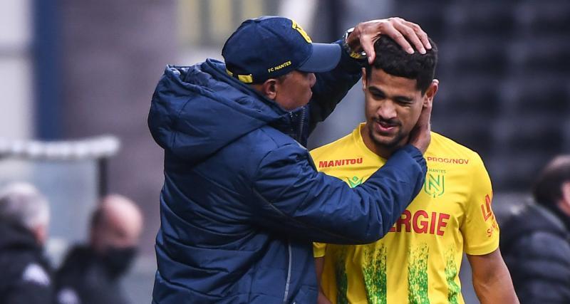 FC Nantes: le choc contre l'OL, le maintien, son avenir... la grosse mise au point de Ludovic Blas