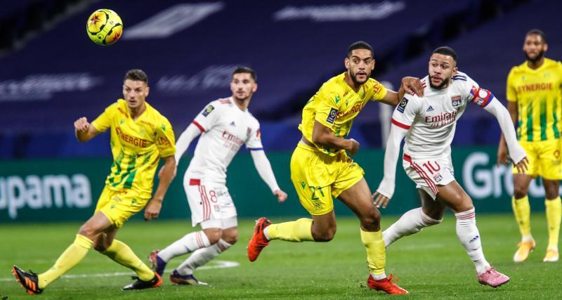 L'OL réussit au FC Nantes ces derniers temps