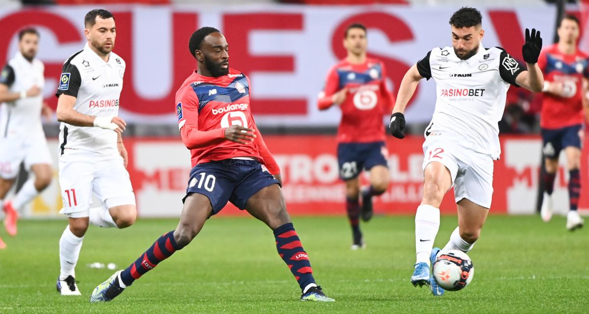 Résultat Ligue 1 : LOSC 0-1 Montpellier (mi-temps)