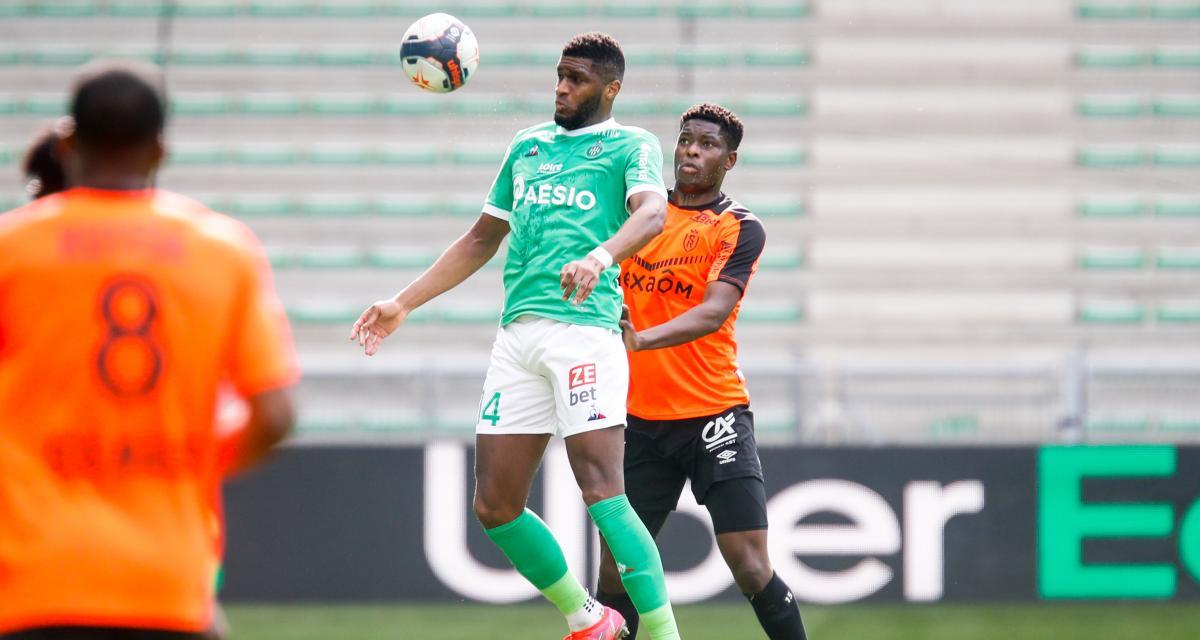 ASSE : fin de saison pour un attaquant des Verts ?