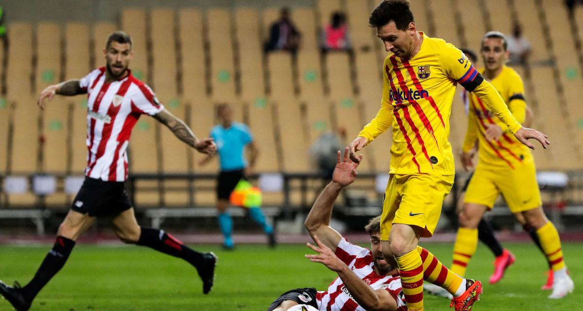 Résultat Coupe du Roi : Athletic Bilbao 0-4 FC Barcelone (terminé)