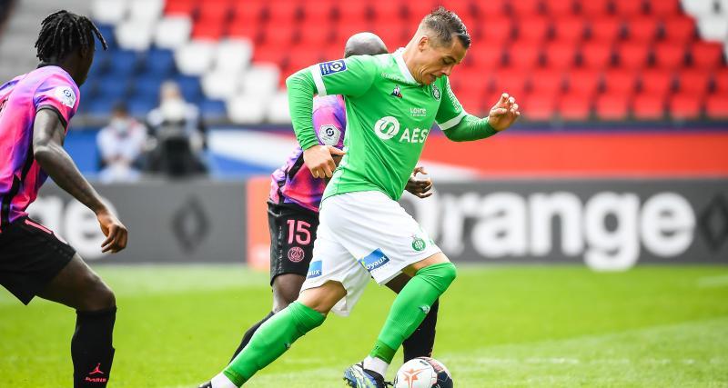 PSG – ASSE (3-2) : Bouanga et Hamouma marquent mais la défense craque sur le fil... les notes des Verts au Parc
