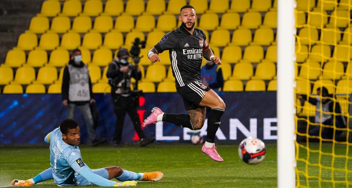 Résultat Ligue 1 : FC Nantes 1 - 2 OL (terminé)