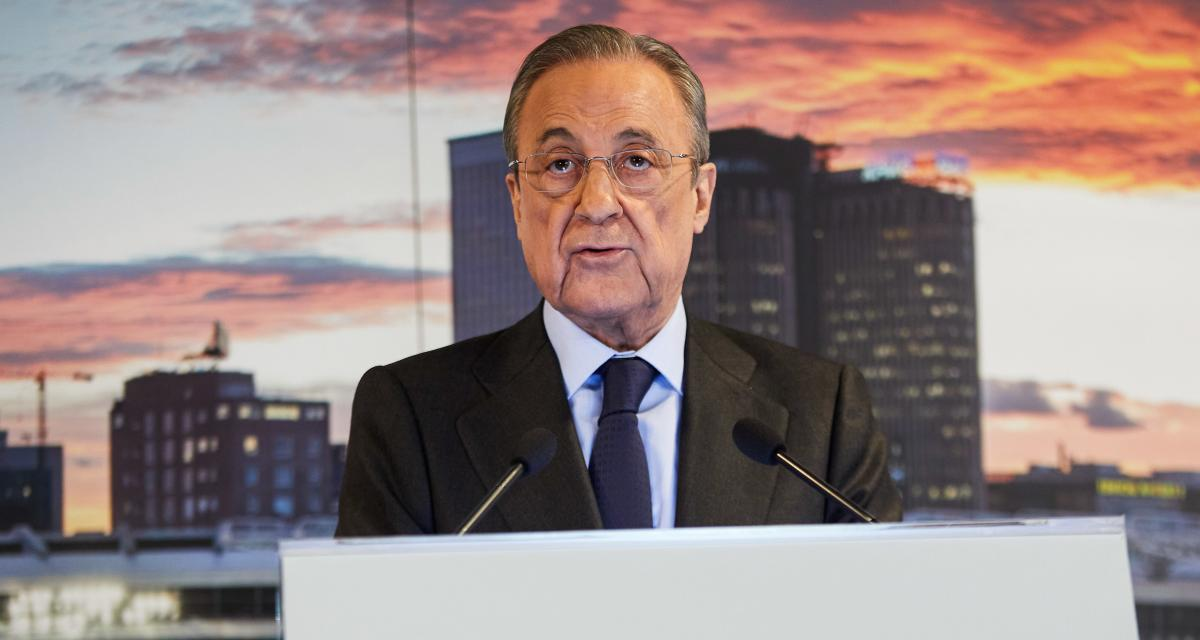 Real Madrid : les annonces fortes de Florentino Pérez sur la Super League