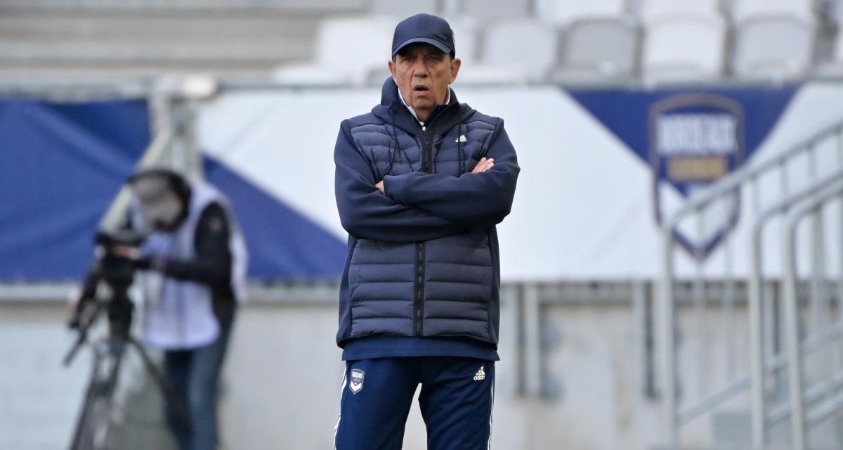 Girondins : un coup dur se confirme pour Jean-Louis Gasset