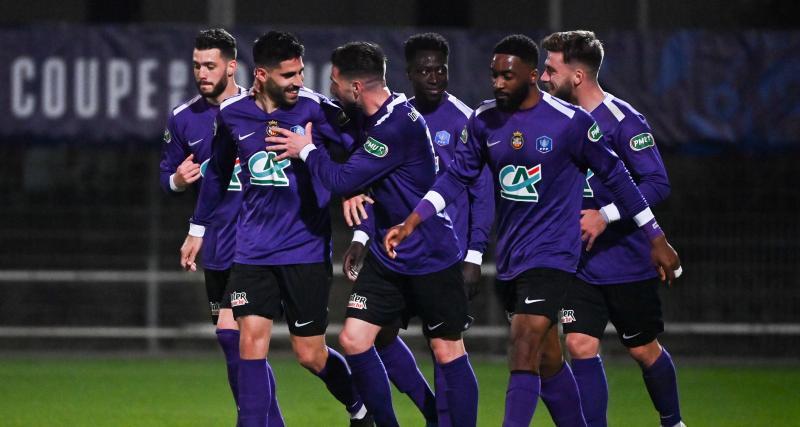Résultat Coupe de France : Canet-en-Roussillon 1-0 Montpellier (mi-temps)