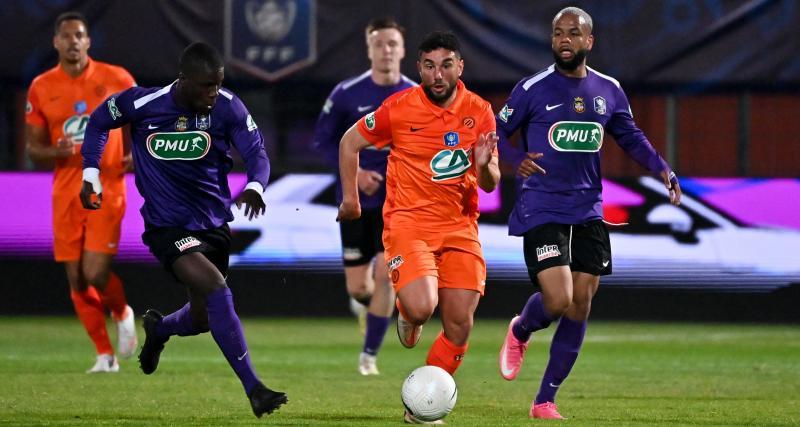 Résultat Coupe de France : Canet-en-Roussillon 1-2 Montpellier (terminé)